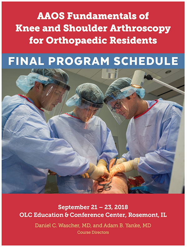 AAOS Fundamentals of Knee and Shoulder Arthroscopy for Orthopaedic Residents