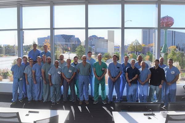 Dr. Yanke Co-Chairs AAOS Resident Arthroscopy Course
