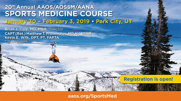 20th Annual Sports Medicine Course